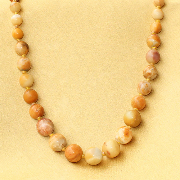 Imeora Yellow Jasper The Intellectual Stone Necklace