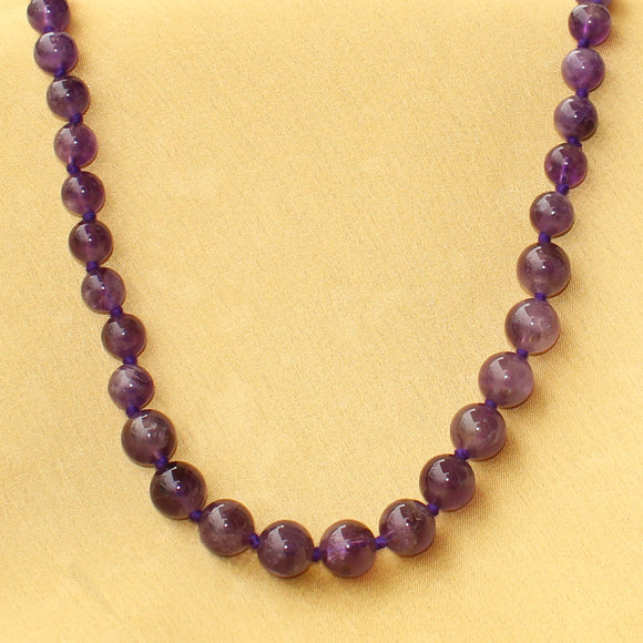 Imeora Real Amethyst The Intuitive Eye Necklace