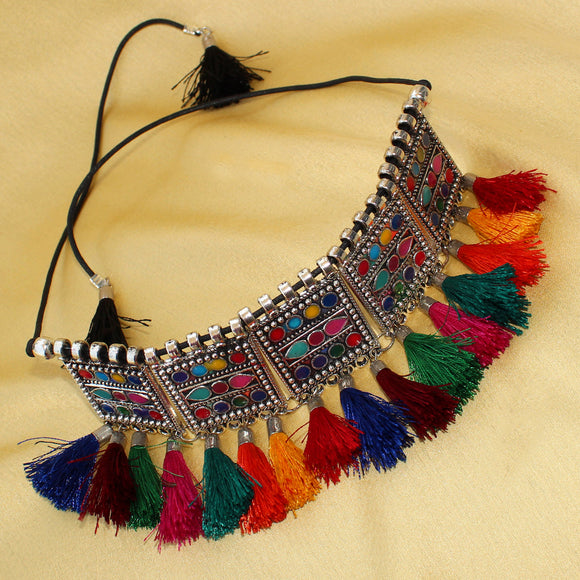 Imeora New Multicolor Choker Necklace
