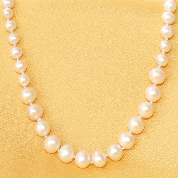 Imeora Fresh Water Pearl 22 Inch Graduation Necklace