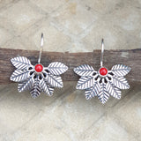925 Silver MultiLeaf Earrings