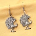 Imeora  Peacock Earrings