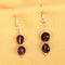 Imeora Dark Amethyst Earrings
