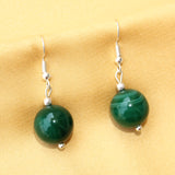 Imeora Green Agate 14mm Earrings