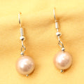 Imeora 10mm Cream Shell Pearl Earrings