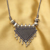 Imeora Designer Triangular Pendant Necklace