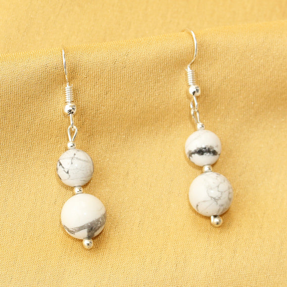 Imeora Howlite Earrings