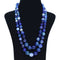 Royal Blue Agate Necklace