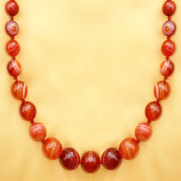 Imeora Multi Brown Agate Necklace