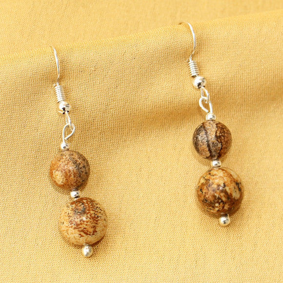 Imeora Picture Jasper Earrings