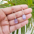 Imeora Purple Monalisa Earrings