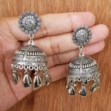 Imeora Ganpati Jhumki Earrings