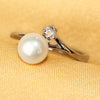 Imeora Real Pearl Adjustable Ring