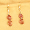 Imeora Red Aventurine Natural Stone Earrings