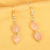 Imeora Rose Quartz Earrings