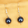 Imeora 10mm Blue Shell Pearl Earrings