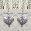 925 Silver Heart Shape Earrings