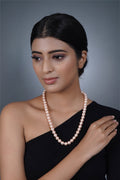 Imeora Cream 10mm Shell Pearl Necklace
