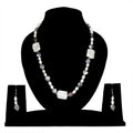 Imeora Designer Heart Fresh Water Pearl Necklace Set