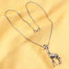 Imeora Giraffe Pendant With 20 Inch Chain