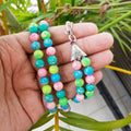Multicolor Turquoise Pearl Necklace