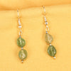 Imeora Prehnite Natural Stone Earrings