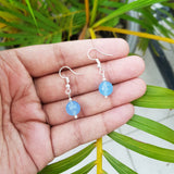 Imeora 10mm Blue Quartz Earrings