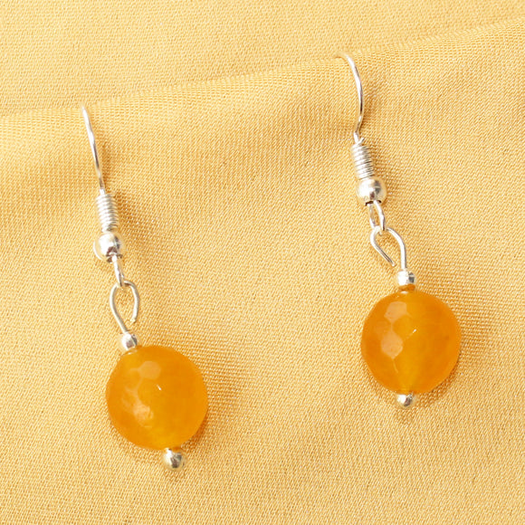 Imeora 10mm Yellow Quartz Earrings
