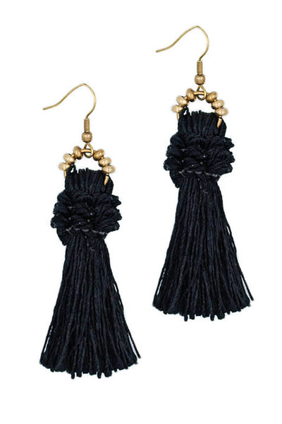 Baroque Tassel Earrings