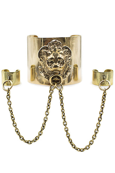 Lioness Hand Chain