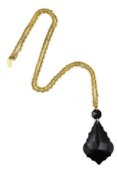 Noir Chandelier Pendant Necklace