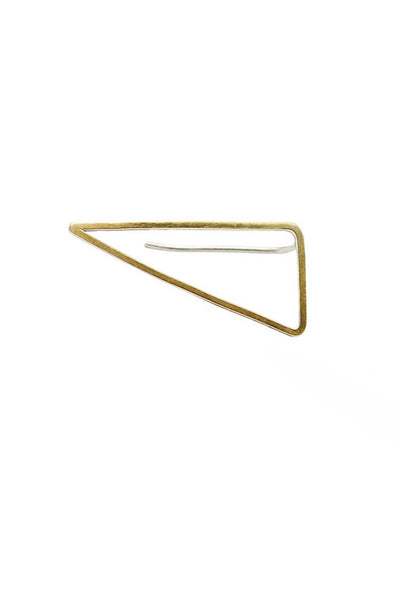 Right Triangle Ear Pin