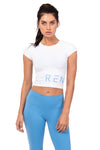REN CROP TOP - BLANC