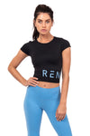 REN CROP TOP - MIDNIGHT