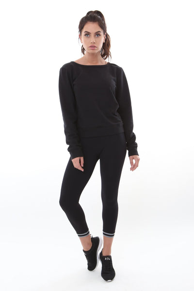 Cerise Sweatshirt Black