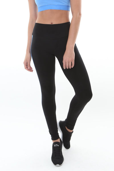 Sky Legging Black/Ice Blue