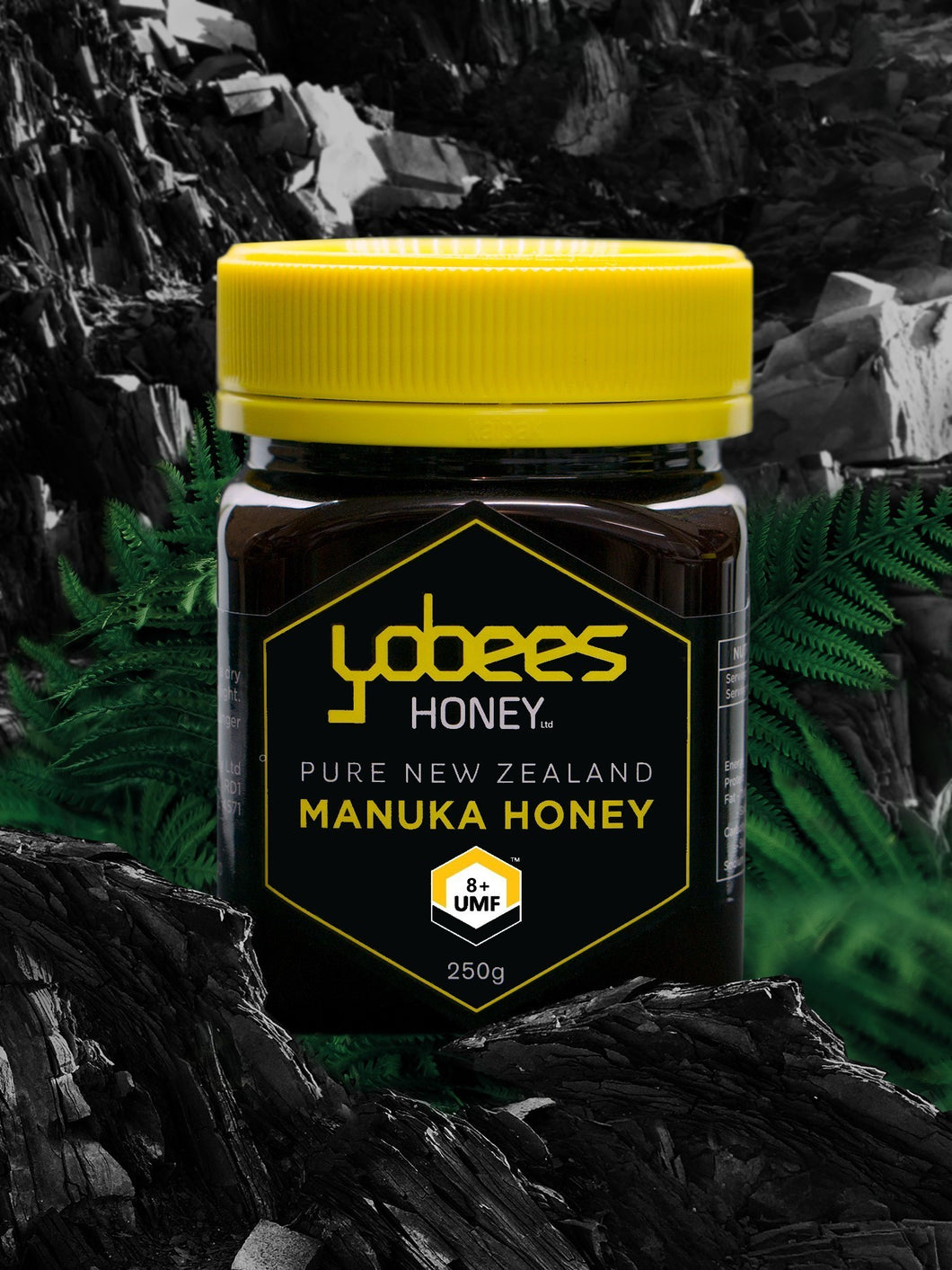 Pure NZ 8+ Manuka Honey - 250g