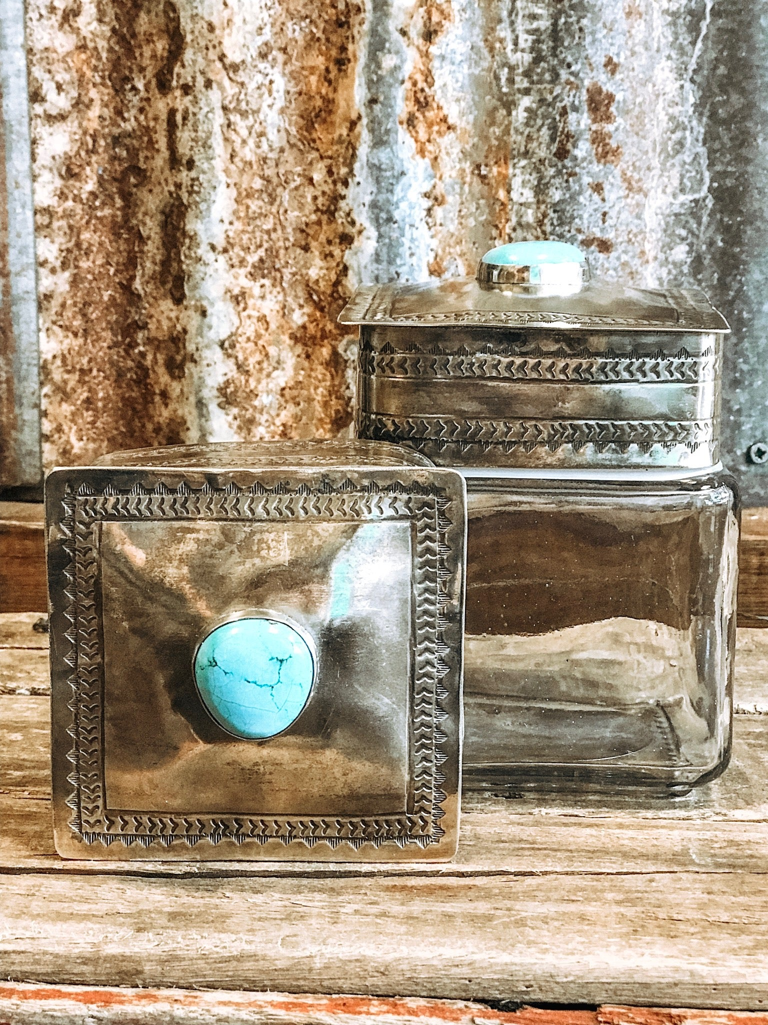 The Turquoise Canister