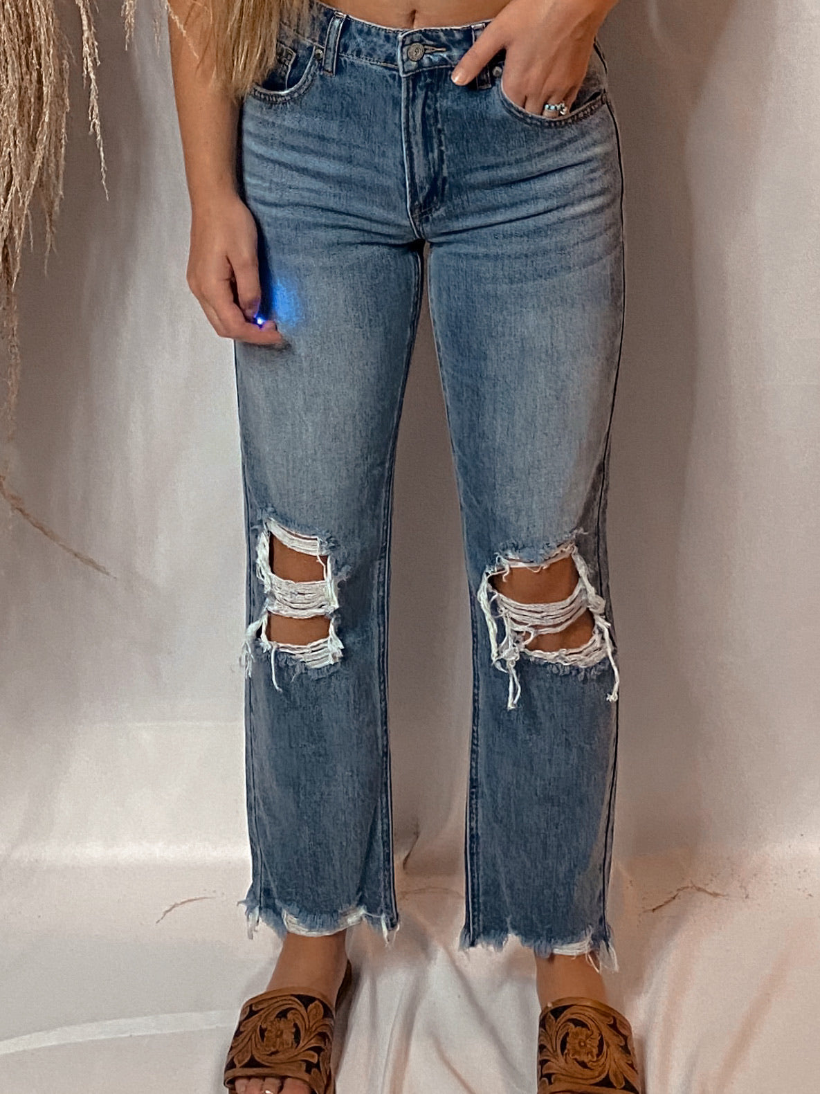 The Dimmitt Cropped Jeans