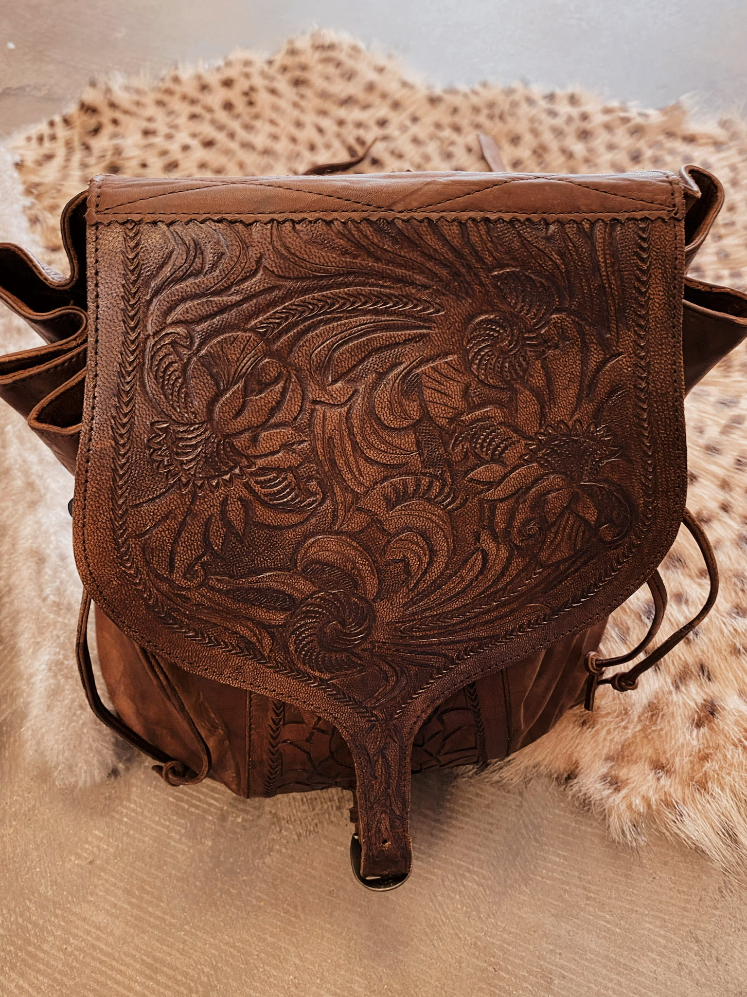 The Tooled Backpack