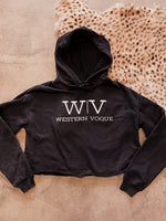 Load image into Gallery viewer, The Western Vogue Cropped Hoodie