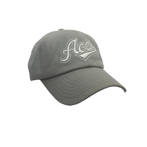Sac ACES Dad Hat (Light Grey)