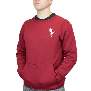 Mission Crew Neck – Maroon