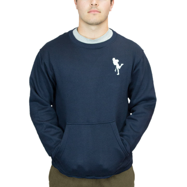Mission Crew Neck – Navy