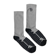 Shooter Impact Socks – Grey/Black