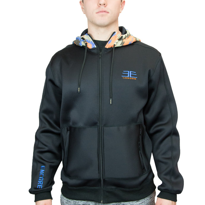 Pacific Jacket – Black/Mosaic