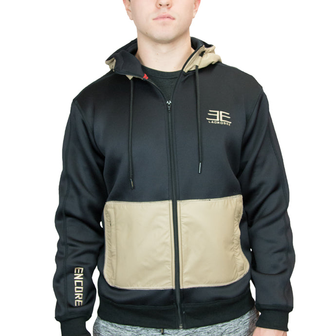 Pacific Jacket – Black/Tan