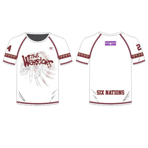 Six Nations Warriors Men's Pro Shooter White