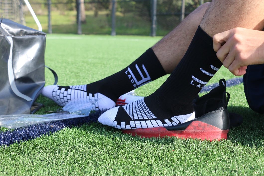 Black/White E's Impact Socks