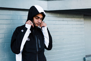 Black/White Samurai Jacket